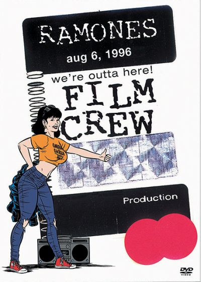 The Ramones - We're Outta Here! (Film Crew) - DVD