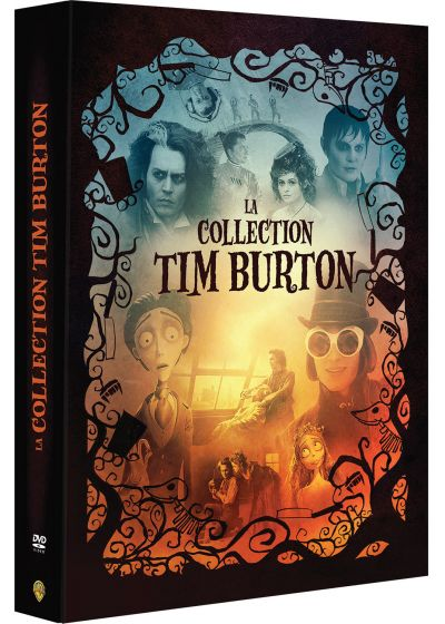 La Collection Tim Burton - Charlie et la chocolaterie + Les noces funèbres + Sweeney Todd + Dark Shadows (Pack) - DVD