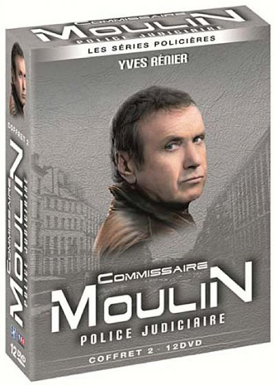 Commissaire Moulin, Police judiciaire - coffret 2 - 12 DVD (Pack) - DVD