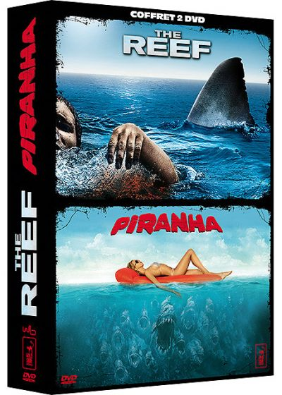 The Reef + Piranha (Pack) - DVD