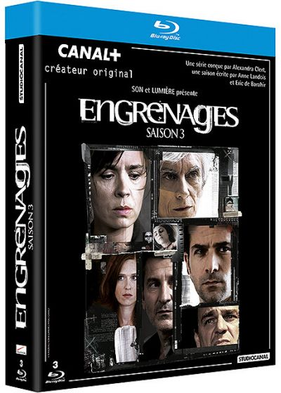Engrenages - Saison 3 - Blu-ray