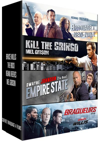 Hollywood : Braquage à New York + Kill the Gringo + Empire State + Braqueurs (Pack) - DVD