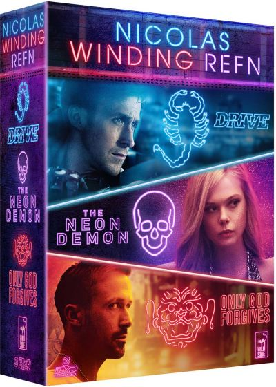 Nicolas Winding Refn : Drive + The Neon Demon + Only God Forgives (Pack) - DVD