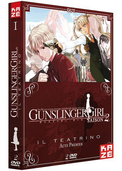 Gunslinger Girl - Saison 2 : Il Teatrino - Box 1/2 - DVD