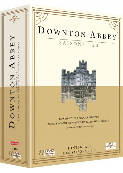 Downton Abbey - Saisons 1 à 3 - DVD