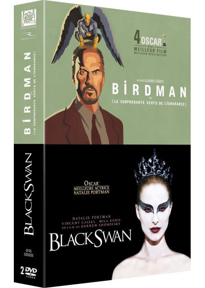 Birdman ou (La surprenante vertu de l'ignorance) + Black Swan (Pack) - DVD