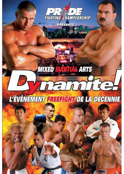 Pride Dynamite ! Mixed Martial Arts Explosion - DVD