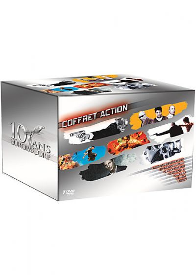 10 ans d'EuropaCorp : Coffret Action (Pack) - DVD