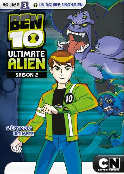 Ben 10 Ultimate Alien - Saison 2 - Volume 3 - Un double sinon rien - DVD