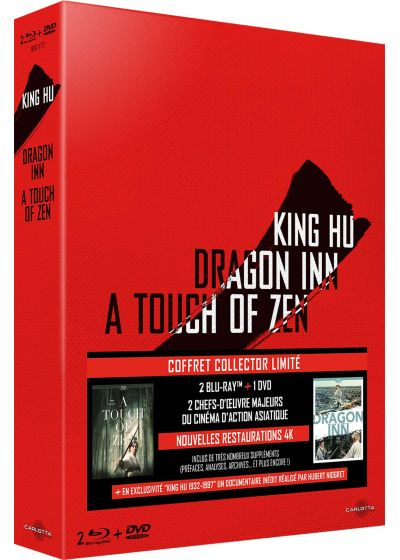 King Hu : Dragon Inn + A Touch of Zen (Édition Collector Limitée) - Blu-ray