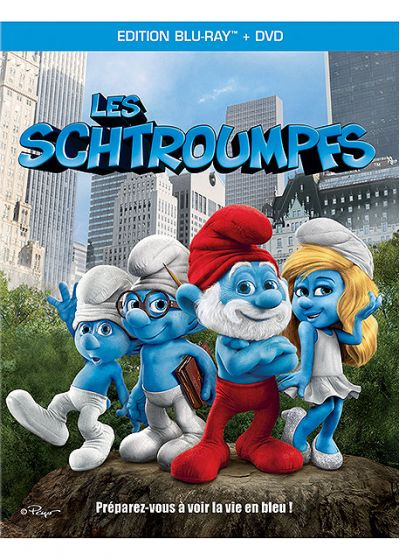 Les Schtroumpfs (Combo Blu-ray + DVD) - Blu-ray