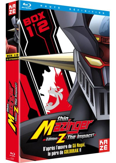 Shin Mazinger - Edition Z : The Impact ! - Box 1/2 - Blu-ray