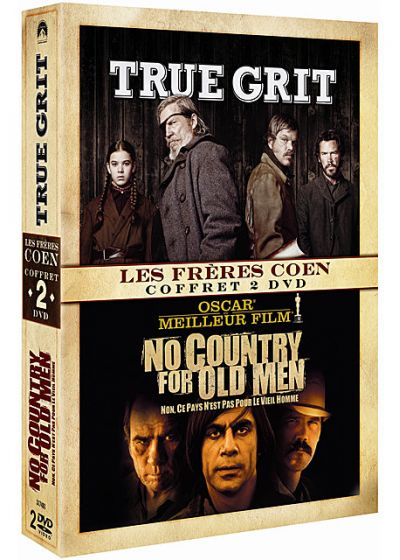 True Grit + No Country for Old Men (Pack) - DVD