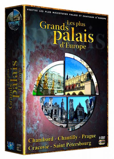 Les Plus grands palais d'Europe : Chambord + Chantilly + Prague + Cracovie + Saint Pétersbourg - DVD
