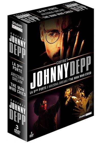Johnny Depp - Coffret - Arizona Dream + The Man Who Cried (Les larmes d'un homme) + La neuvième porte - DVD