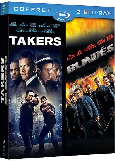Takers + Blindés (Pack) - Blu-ray