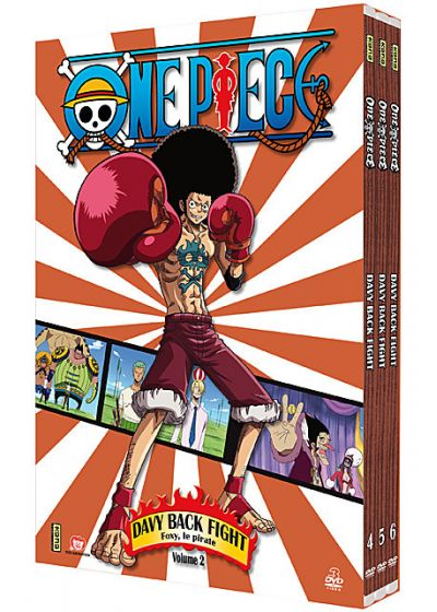 One Piece - Davy Back Fight - Coffret 2 - DVD