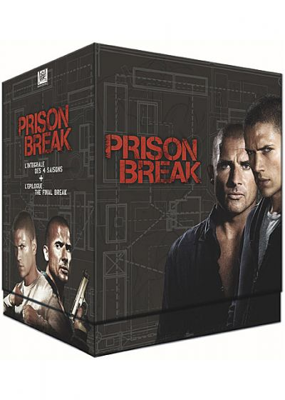Prison Break - L'intégrale des 4 saisons + l'épilogue The Final Break - DVD