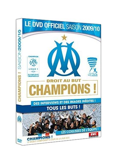 OM : Droit au but Champions - Saison 2009-2010 - DVD