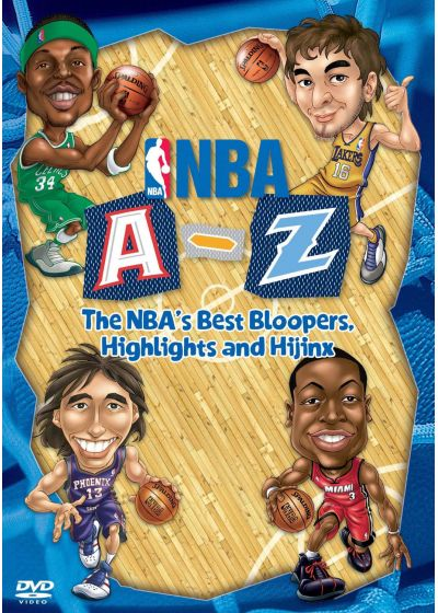 NBA A-Z : The NBA's Best Bloopers Highlights and Hijinx - DVD