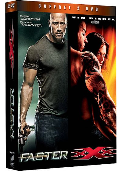 Faster + xXx (Pack) - DVD