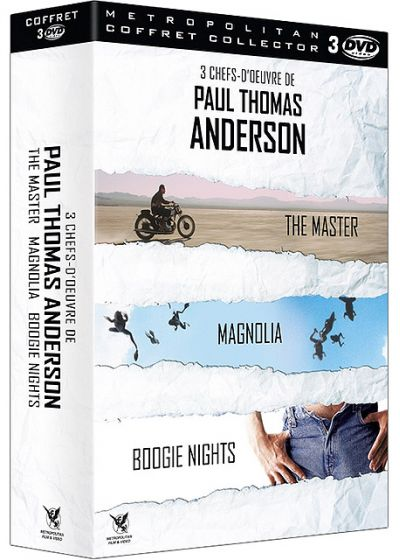 3 chefs-d'oeuvre de Paul Thomas Anderson - The Master + Magnolia + Boogie Nights (Coffret Collector) - DVD