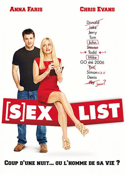 Sex List - DVD