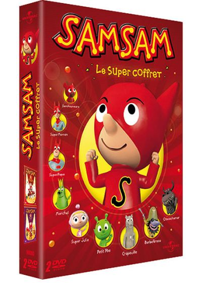 SamSam - Le super coffret - DVD