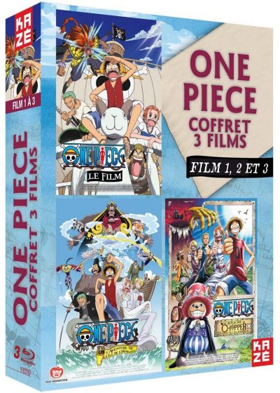 One Piece - Le Film 1, 2 et 3 - Blu-ray