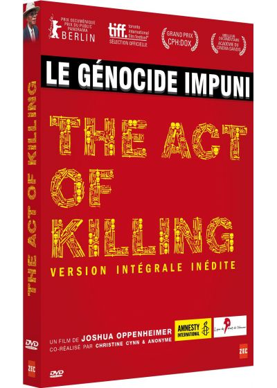 The Act of Killing (Version intégrale inédite) - DVD