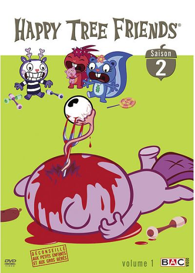 Happy Tree Friends - Saison 2, Vol. 1 - DVD