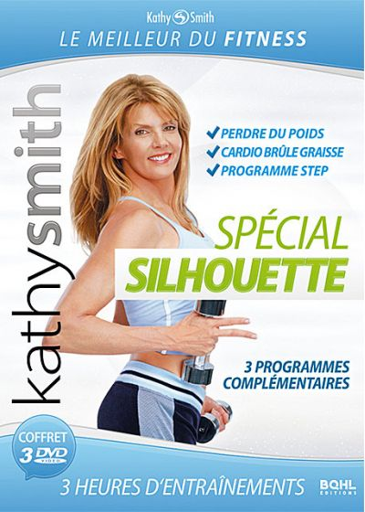 Kathy Smith : Spécial Silhouette - Coffret super forme 3 DVD (Pack) - DVD