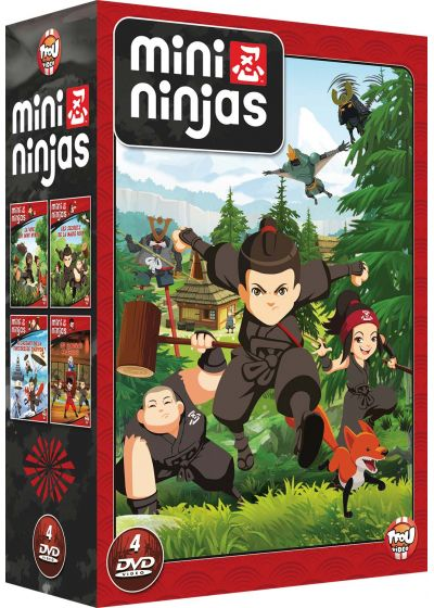 Mini Ninjas - Coffret 4 DVD (Pack) - DVD