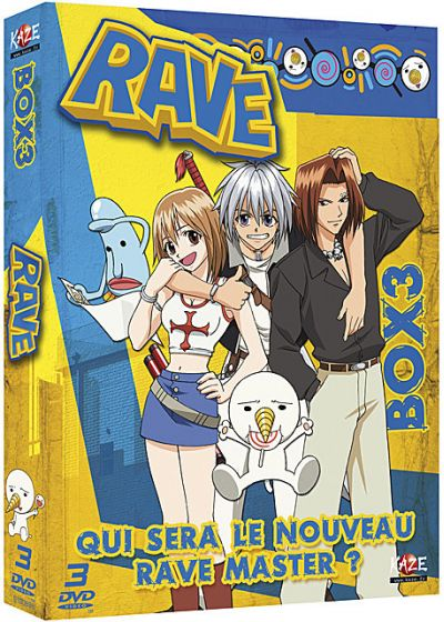 Rave Master - Box 3/4 - DVD