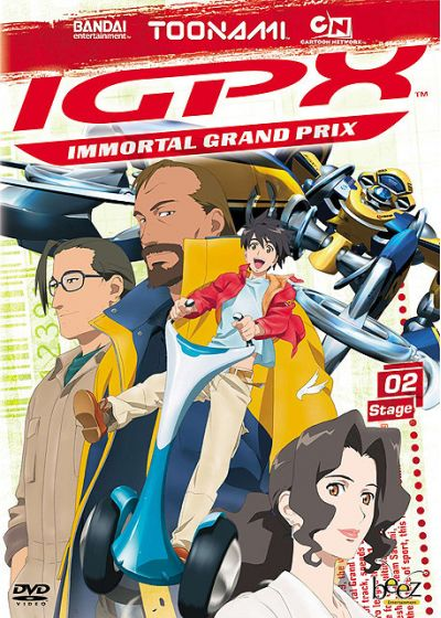 IGPX - Immortal Grand Prix - Stage 02 - DVD