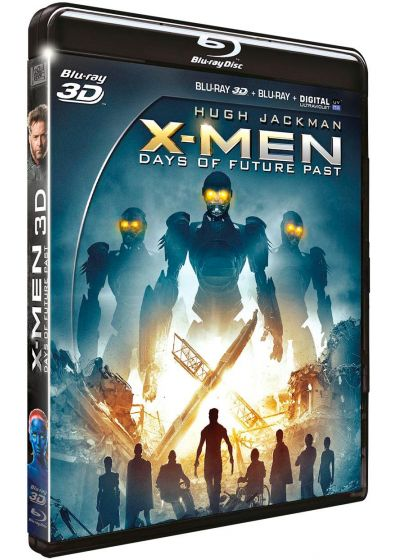 X-Men : Days of Future Past (Combo Blu-ray 3D + Blu-ray 2D) - Blu-ray 3D