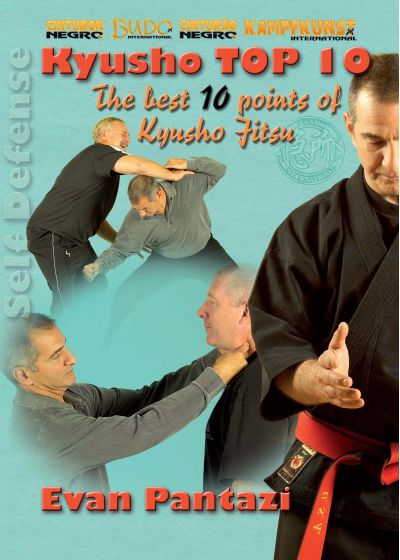 Kyusho Top 10 : The Best 10 Points of Kyusho Jitsu - DVD