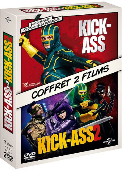 Kick-Ass 1 & 2 - DVD
