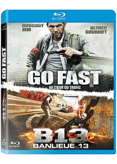 Go Fast + Banlieue 13 (Pack) - Blu-ray