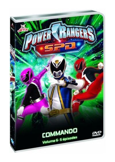 Power Rangers S.P.D. - Vol. 6 - DVD