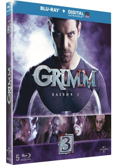 Grimm - Saison 3 (Blu-ray + Copie digitale) - Blu-ray