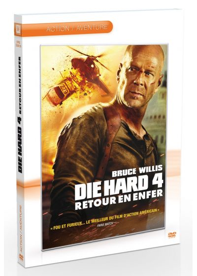 Die Hard 4 : Retour en enfer - DVD