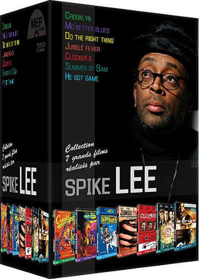 Spike Lee - Coffret 7 films : Crooklyn + Mo' Better Blues + Do the Right Thing + Jungle Fever + Clockers + Summer of Sam + He Got Game (Pack) - DVD