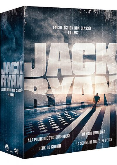 Jack Ryan - Coffret 4 films - DVD