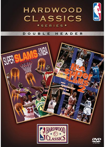 Hardwood Classics Series : Super Slams of the NBA + NBA Supers Slams 2 - DVD