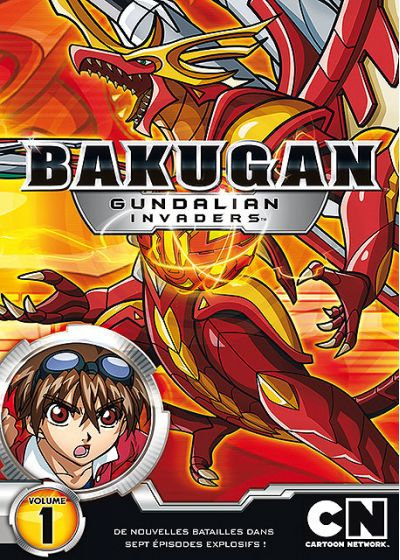Bakugan Battle Brawlers : Gundalian Invaders - Volume 1 - DVD