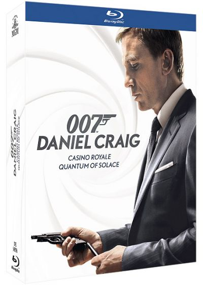 James Bond : Casino Royale + Quantum of Solace (Pack) - Blu-ray