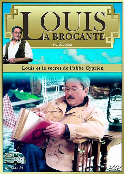 Louis la brocante, épisode 14 : Louis et le secret de l'abbé Cyprien - DVD