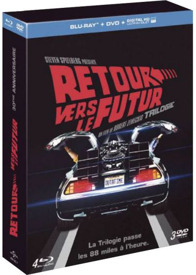 Retour vers le futur - Trilogie (Collector Blu-ray + DVD + Copie digitale + Goodies) - Blu-ray