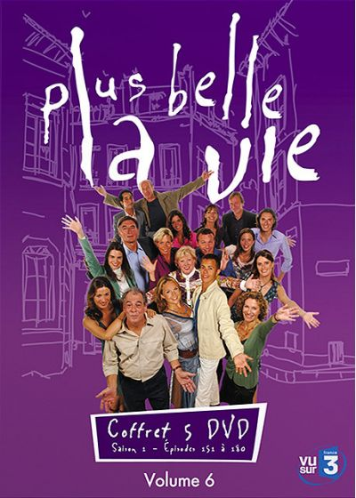 Plus belle la vie - Volume 6 - DVD